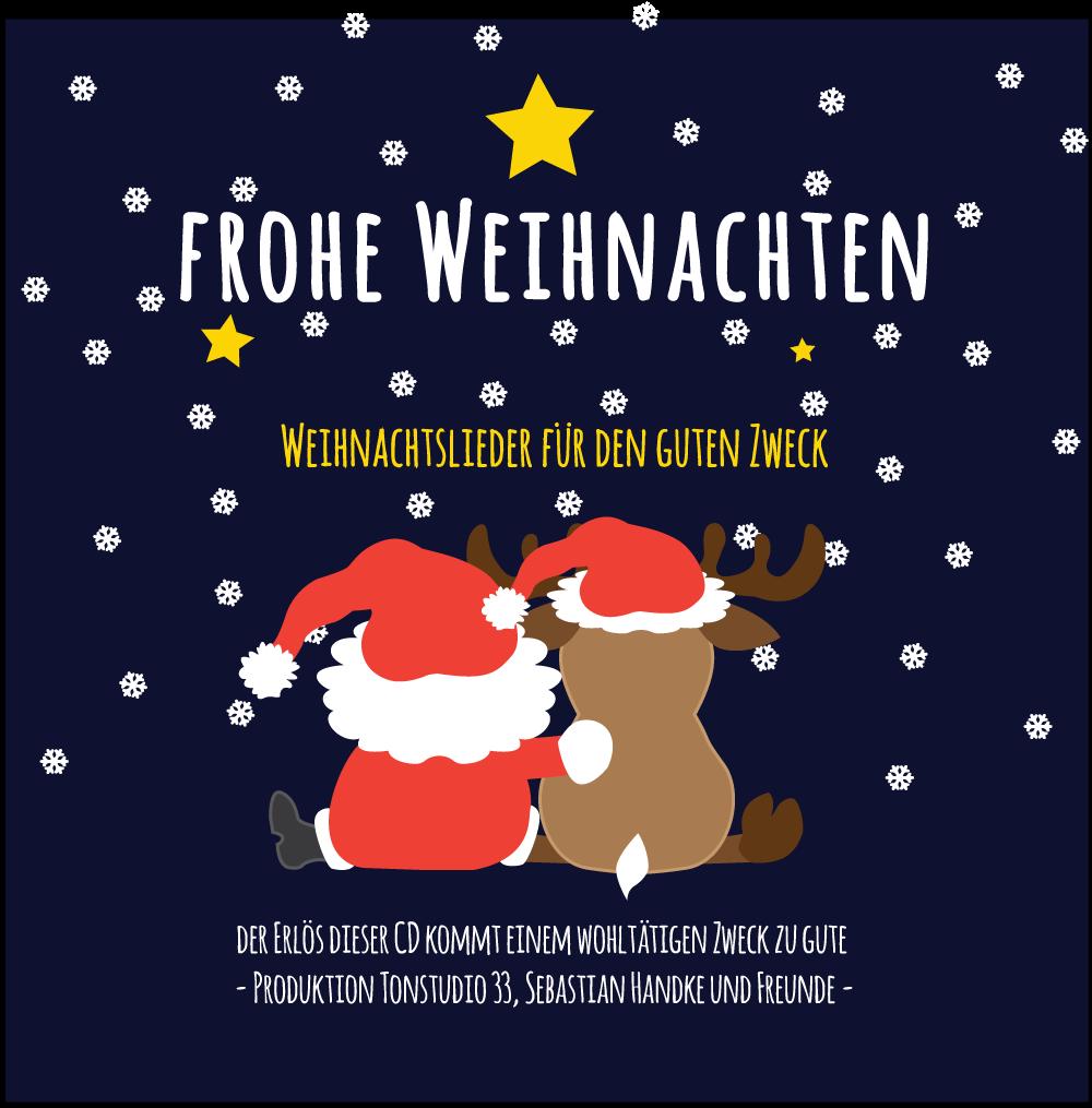 Gute Weihnachtslieder.Weihnachts Cd Design Cover Tonstudio33