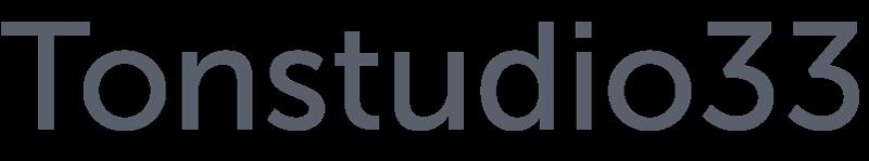 Tonstudio33 Logo