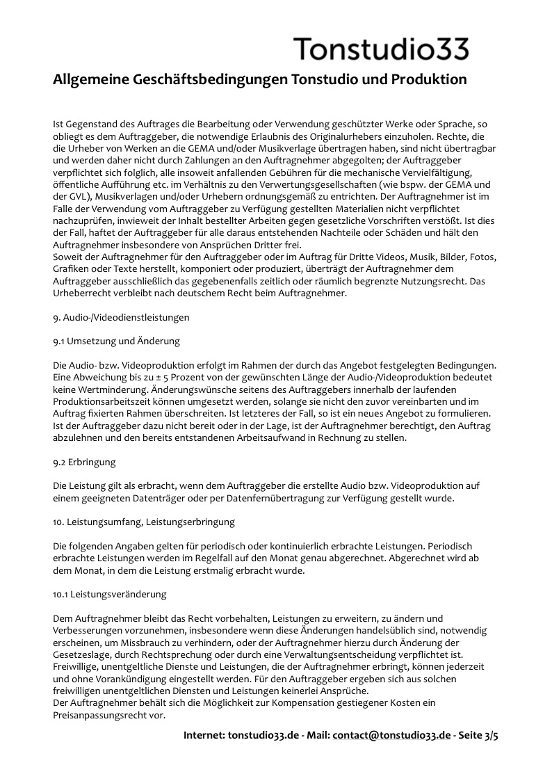 AGB Tonstudio33 - Seite 03